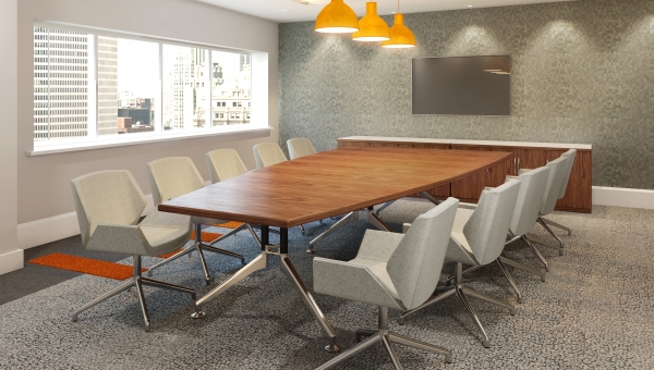 NEW DESIGN OPTION FOR EBORCRAFT'S BOARDROOM FURNITURE